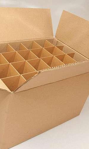 Caixa de papelão ondulado