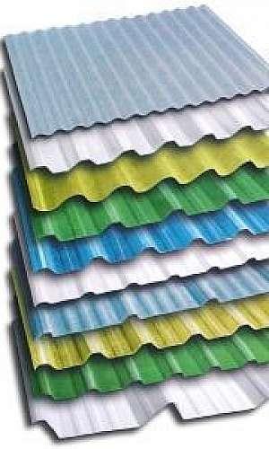 Fábrica de telhas zipadas - LOTE MÍNIMO DE 200 METROS DE TELHA