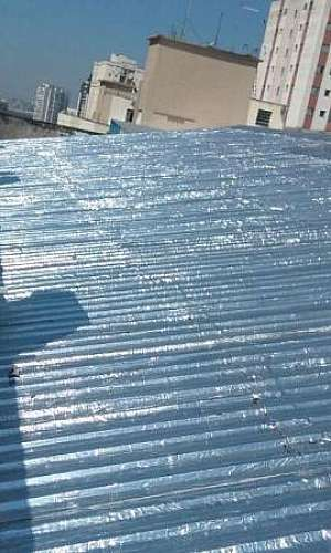 Impermeabilização de telhados metálicos