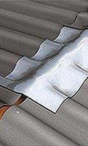 Manta aluminizada auto adesiva para telhado