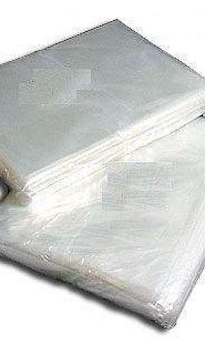 Saco plástico cristal translúcido